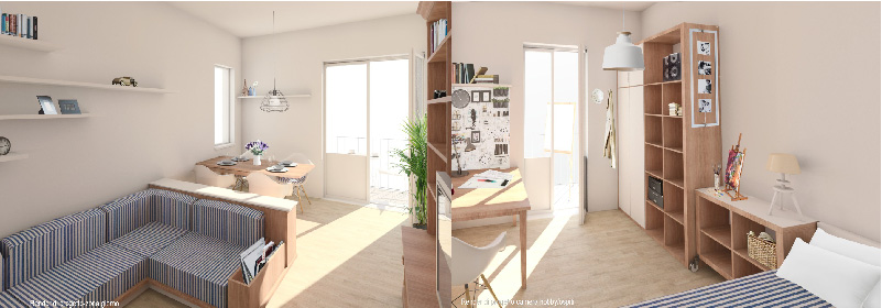 proposta progettuale designer Mirco Santi - GoPillar