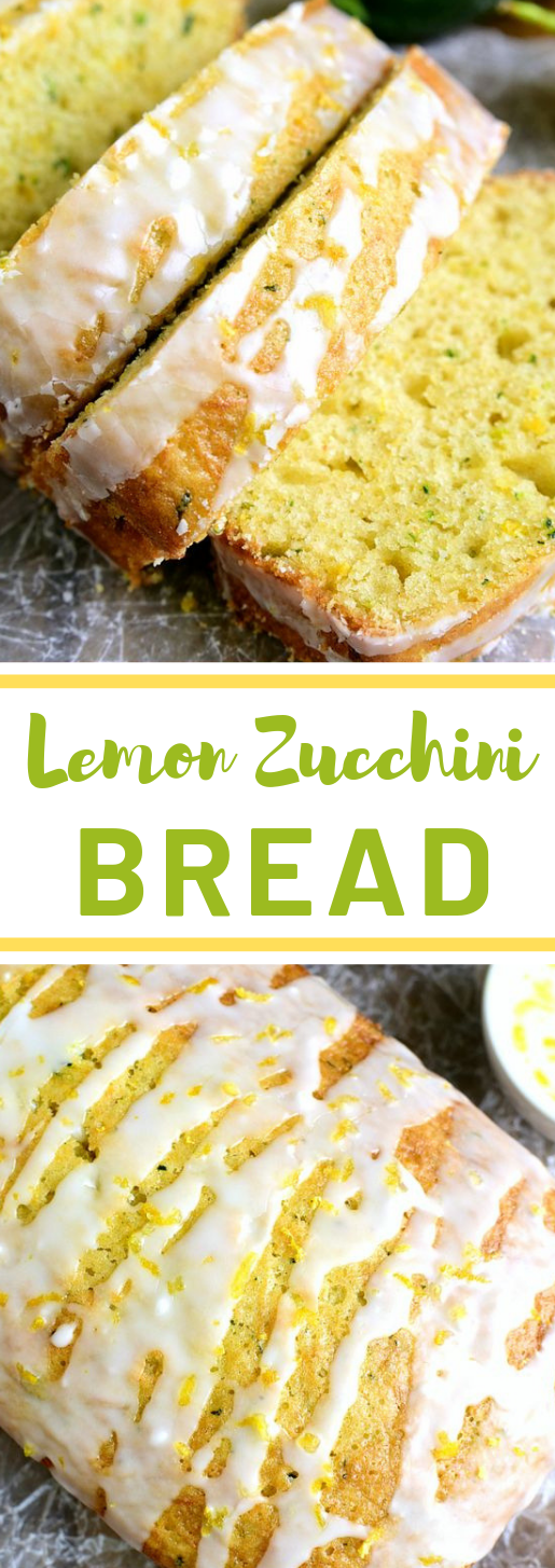 LEMON ZUCCHINI BREAD #lemon #desserts #easy #cakes #yummy