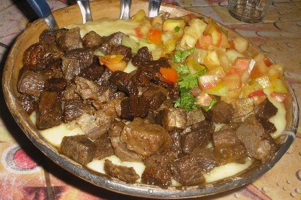 Muita carne no restaurante - 2 9