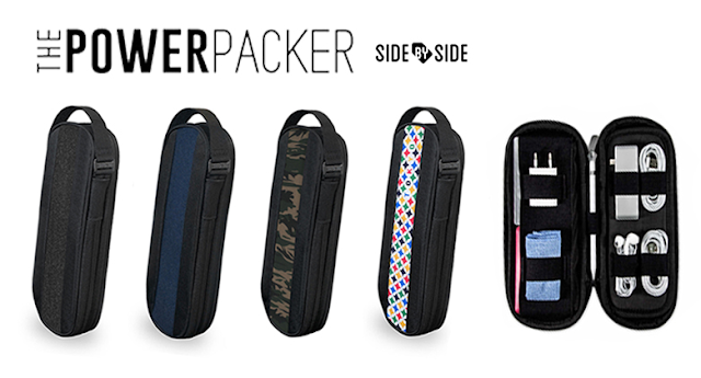【隨身小物開箱】SBS The Power Packer 隨身收納包|簡約設計|超強彈性空間|整裝待發就靠SBS |3C配件收納包推薦