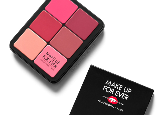 Palette Blush Crème Couvrance Invisible Ultra HD Make Up For Ever Avis Revue