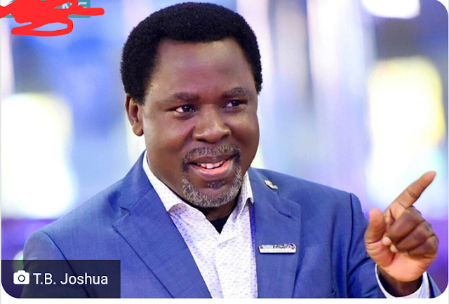 Breaking :  SCOAN founder, Prophet TB Joshua is dead