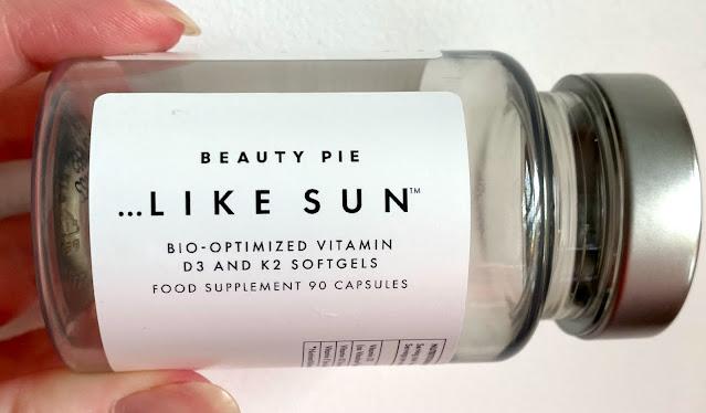 Beauty Pie Like Sun Vitamin D supplements