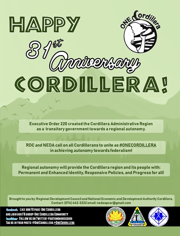 Happy Cordillera Day