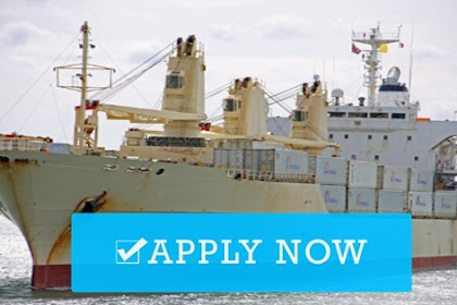 3rd Engineer For Cargo Vessels (Indonesia)