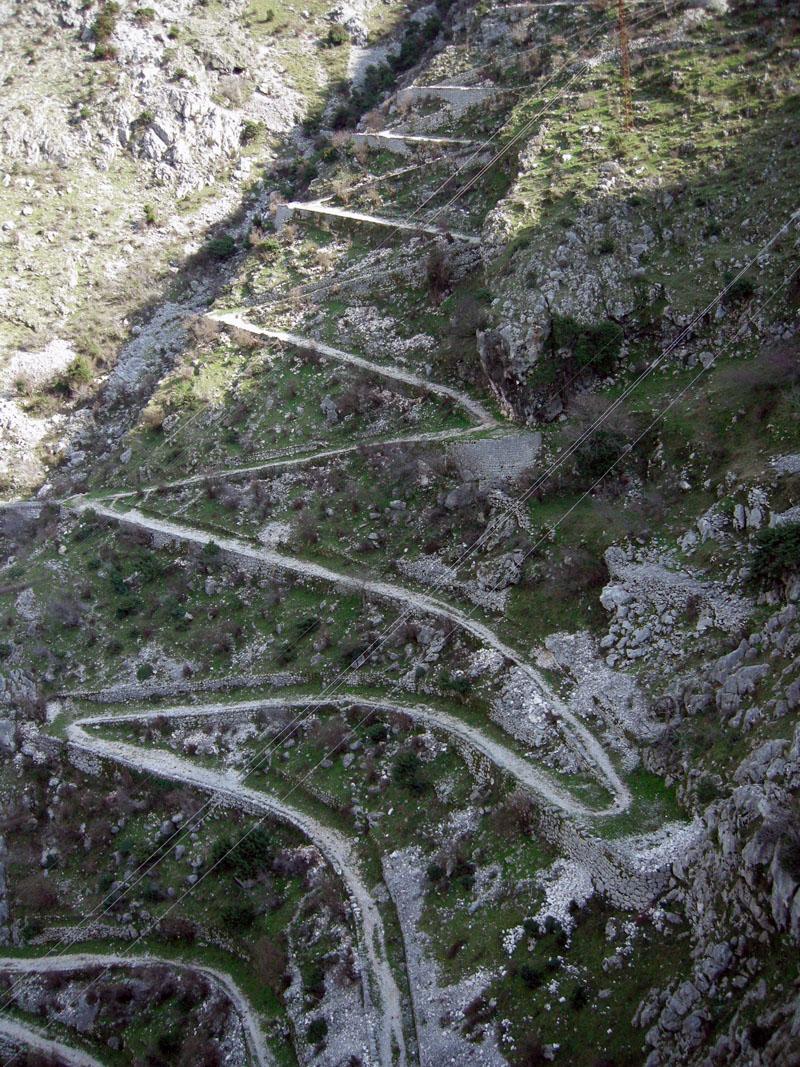Серпантин-в-Черногории