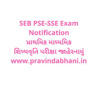 Primary Secondary Scholarship Exam, PSE-SSE