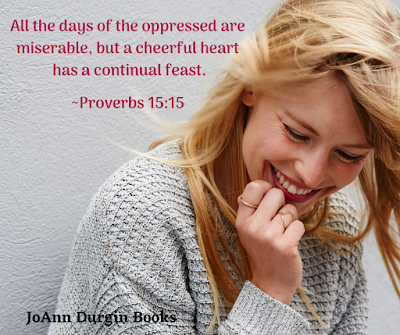Meme with Proverbs 15:15