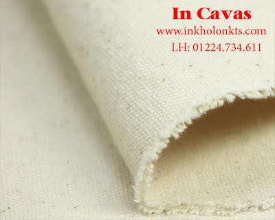 Chất liệu vải Cavas