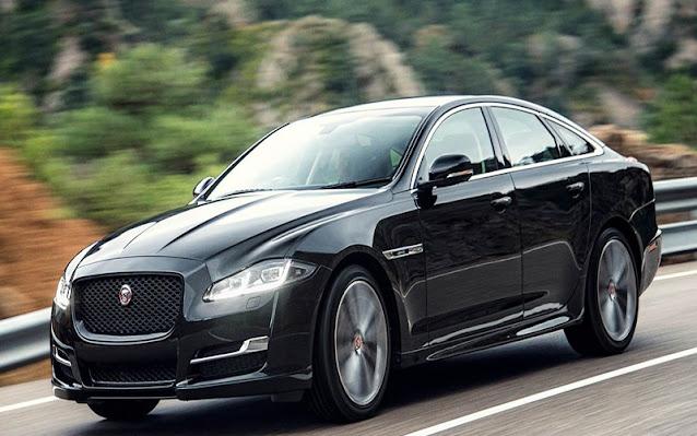 Thiết kế ngoại thất của Jaguar XJL như một con báo săn mồi