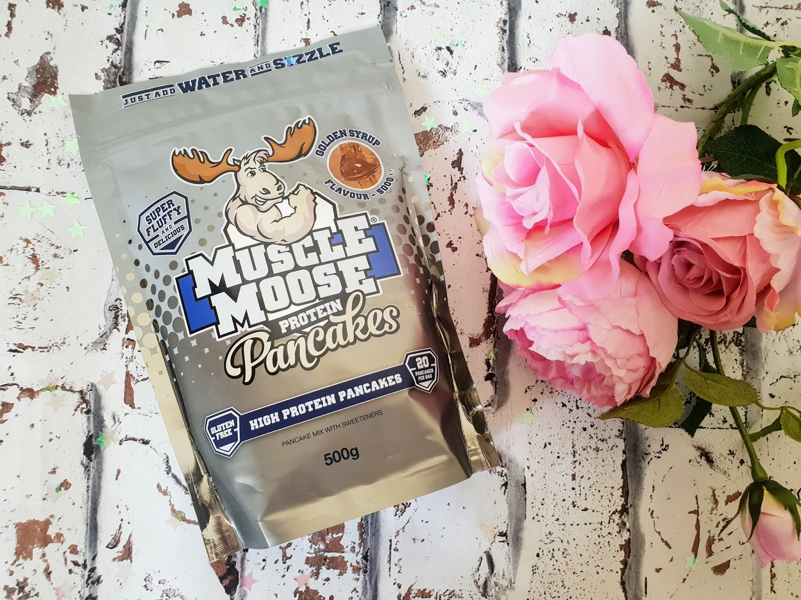 Making Delicious Gluten-Free Protein Pancakes with Muscle Moose!