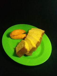 Cake yang terbuat dari daging buah pampakin
