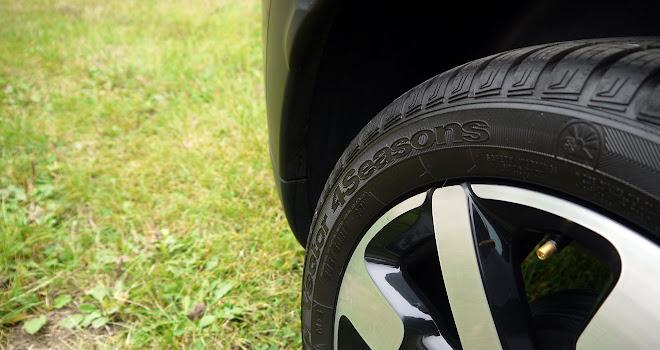 Citroen C4 Cactus Rip Curl tyres