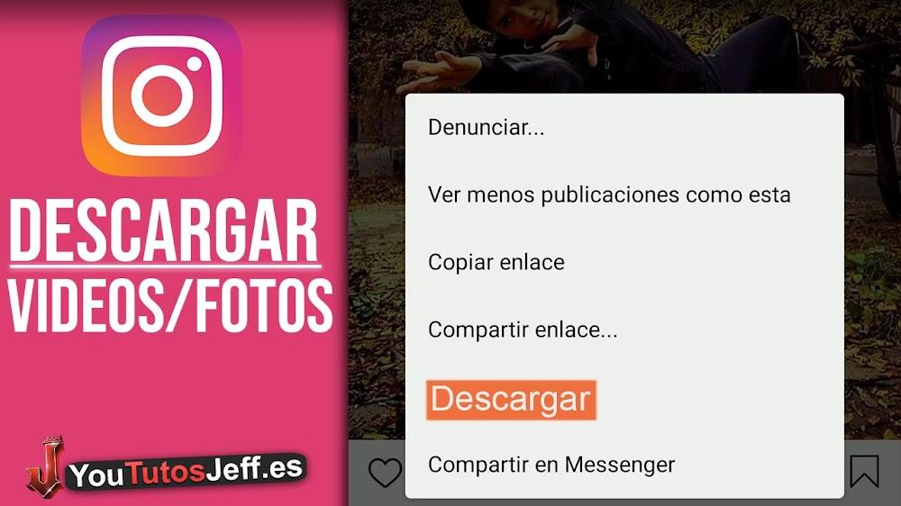 Como Descargar Imágenes y Vídeos de Instagram