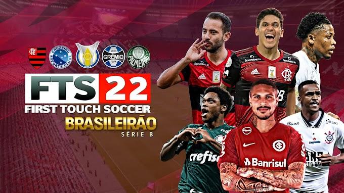 Baixar & instalar!? FTS 2021/2022 Com Brasileirão, Libertadores e Sulamericana 250 MB