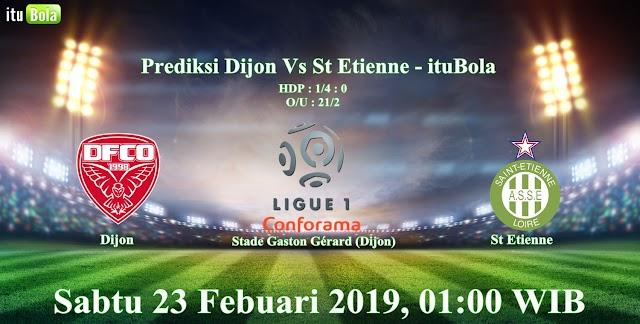Prediksi Dijon Vs St Etienne - ituBola
