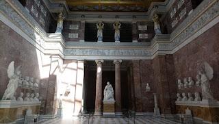 Fotografía interior templo Walhalla