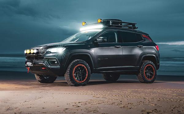 Jeep Compass Off-Roader: conceito capacidade fora de estrada aprimorada