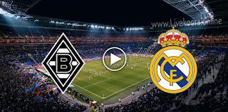 مشاهدة مباراة بوروسيا مونشنغلادباخ وريال مدريد بث مباشر بتاريخ 27-10-2020 في دوري أبطال أوروبا