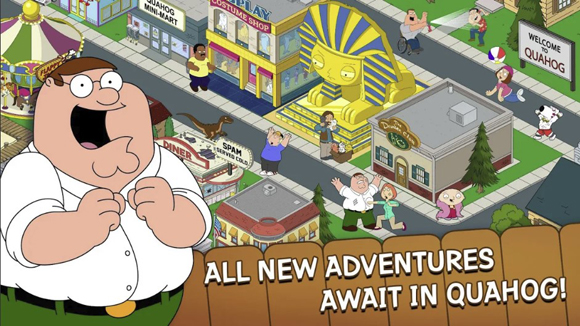 Family Guy The Quest for Stuff Mod Apk for Android