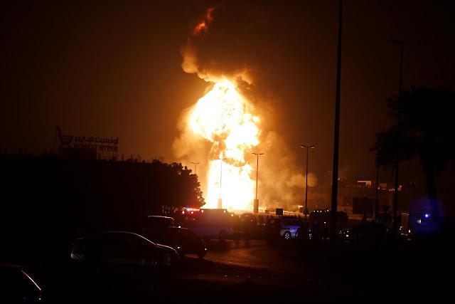 O Ministério do Interior do Bahrein fez o anúncio sábado à tarde, alegando que o Irã estava em comunicação e orientando os responsáveis pela explosão do oleoduto e outros ataques.