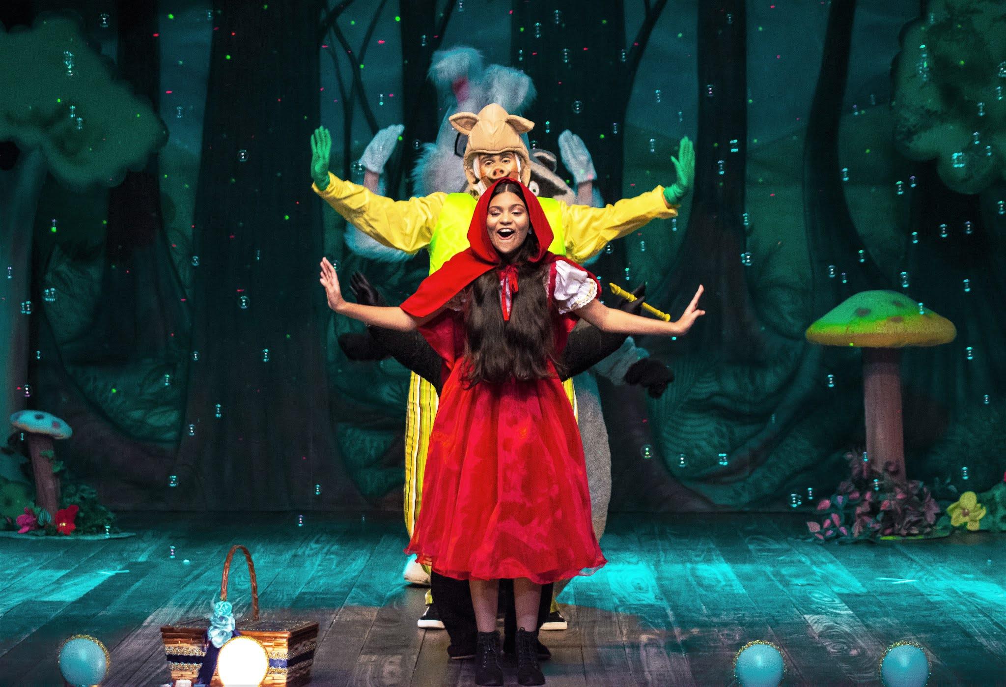 Teatro Experimental Roberto Costa retoma as atividades com a peça Chapeuzinho Vermelho