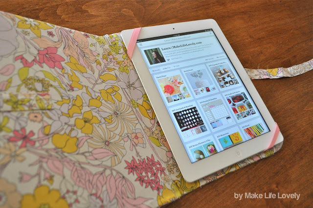 How to make a DIY iPad case for free