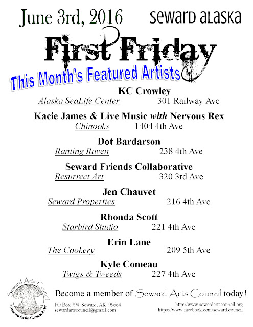 June 3rd First Friday events