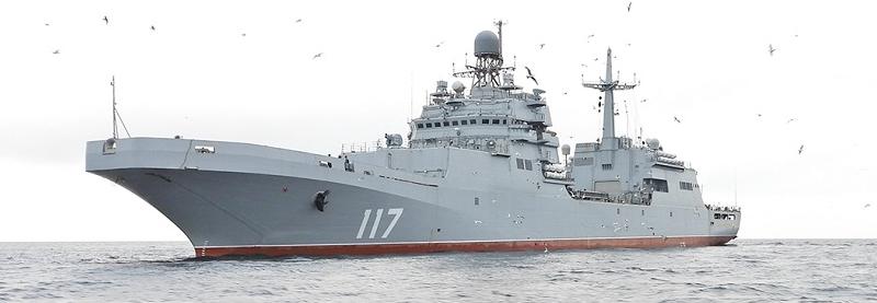 ВМФ РФ поповнився великим десантним кораблем