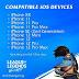 Aparelhos iPhone Compatíveis