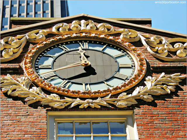Reloj del Old State House Boston