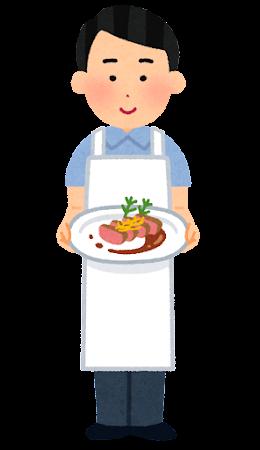 料理研究家のイラスト(男性)