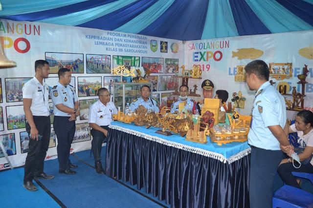 Kakanwil Kemenkumham Jambi di Sarolangun Expo 2019