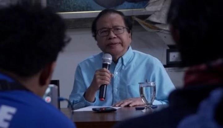 Rizal Ramli Komentari Ucapan Menkeu: Kemungkinan, Sri Sok Jago