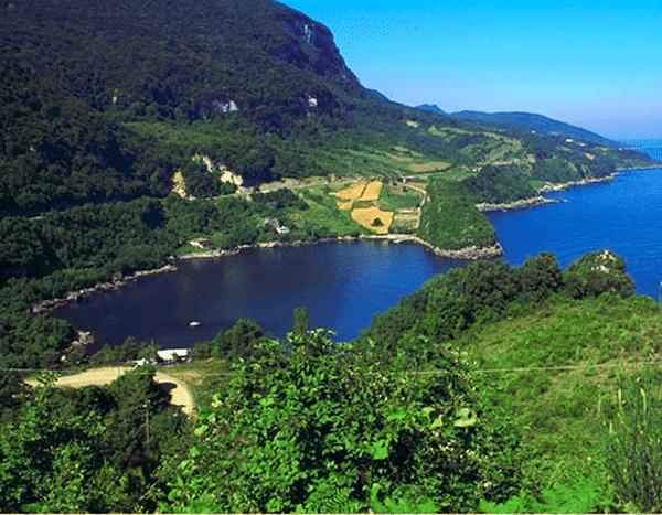 Gideros Koyu Kastamonu şehri