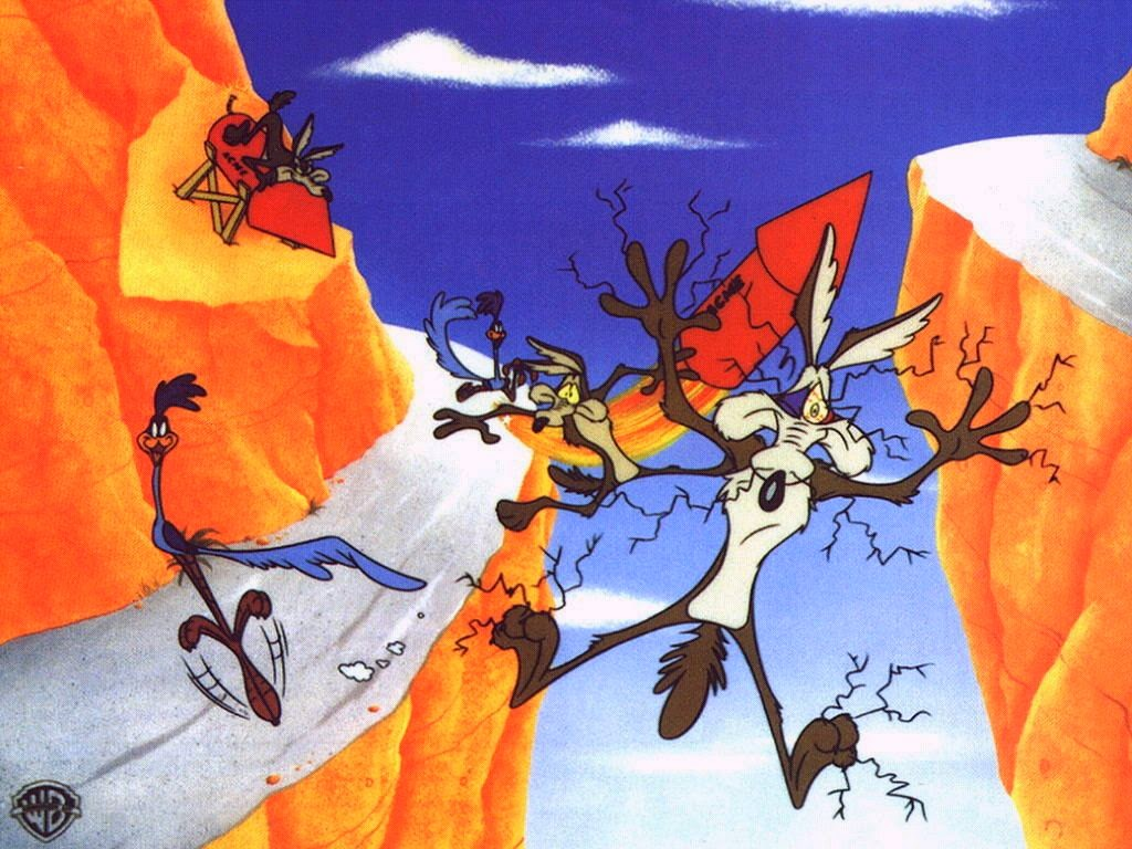 Wile E. Coyote and the Road Runner Free Printable ...