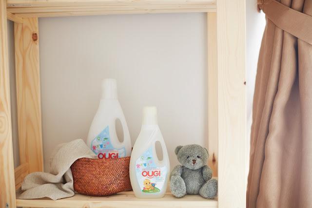 Senyum Ceria Bayi Sehat bersama Ougi Detergent