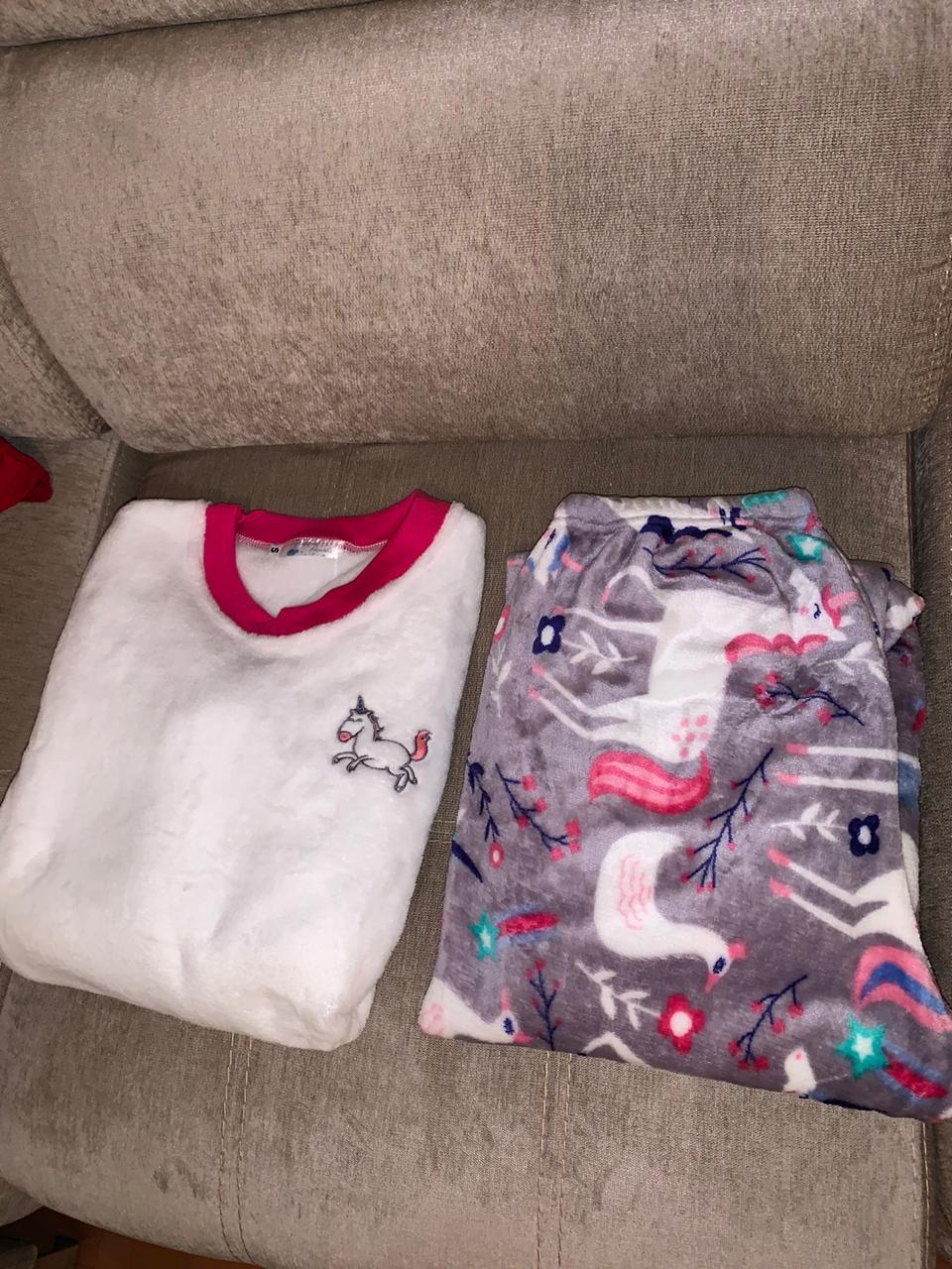 pijama blanca para dama en Bogota, centro comercial sorpresas