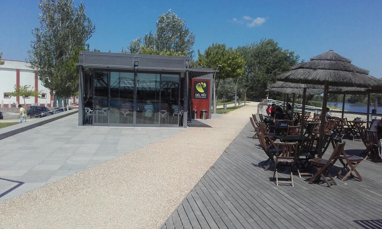 bar da Praia Fluvial de Coruche