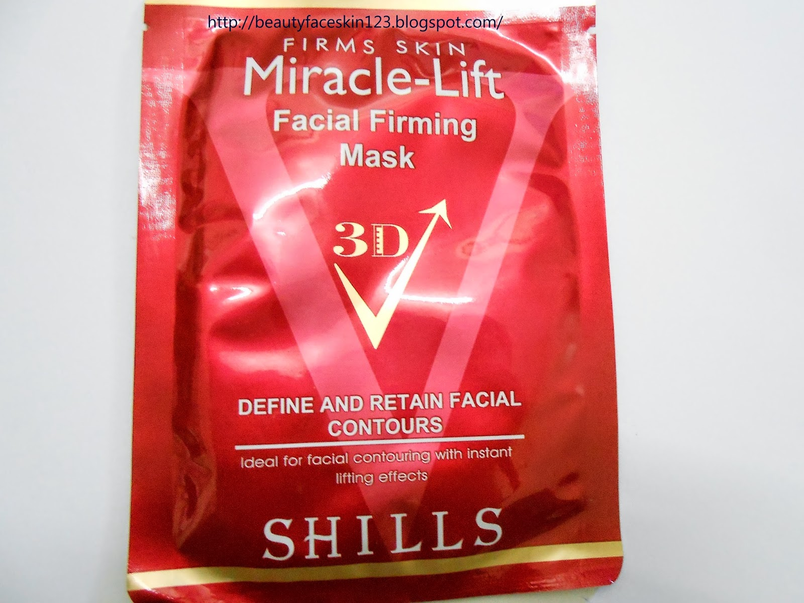 REVIEW SHILLS MIRACLE LIFT FACIAL FIRMING MASK