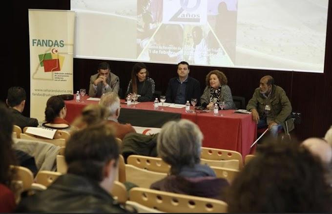 Ayuda Parlamento andaluz llegó a terreno saharaui no dominado por Marruecos