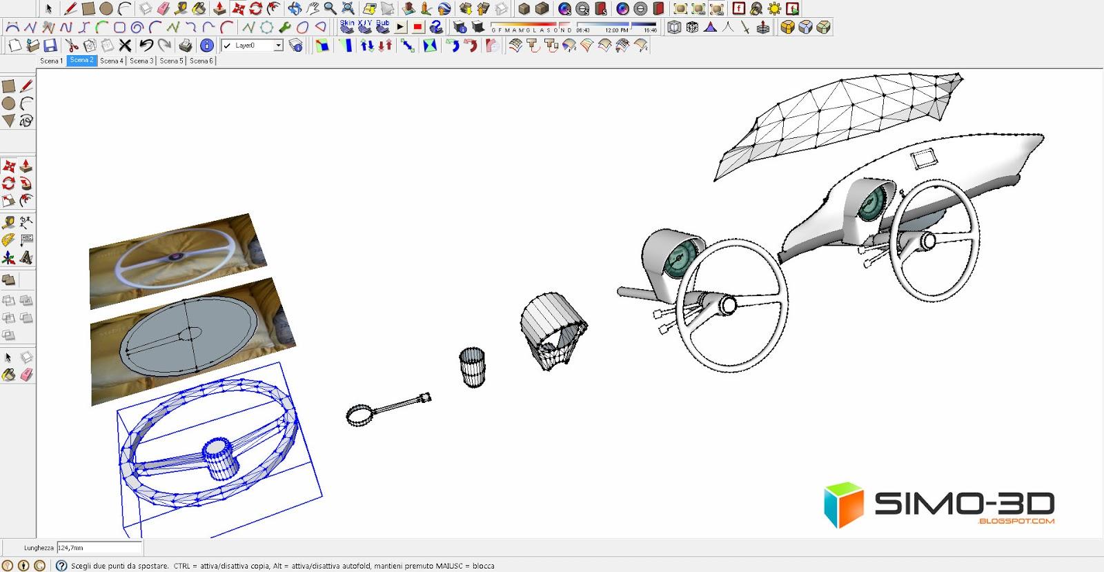 Sketchup Subdivide And Smooth tutorial