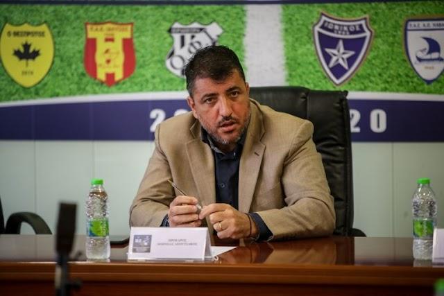 Λεουτσάκος: Ελπιδοφόρα η υποψηφιότητα του Ζαγοράκη για το ποδόσφαιρο
