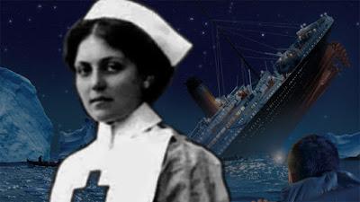 Mujer que sobrevivió al accidente del titanic