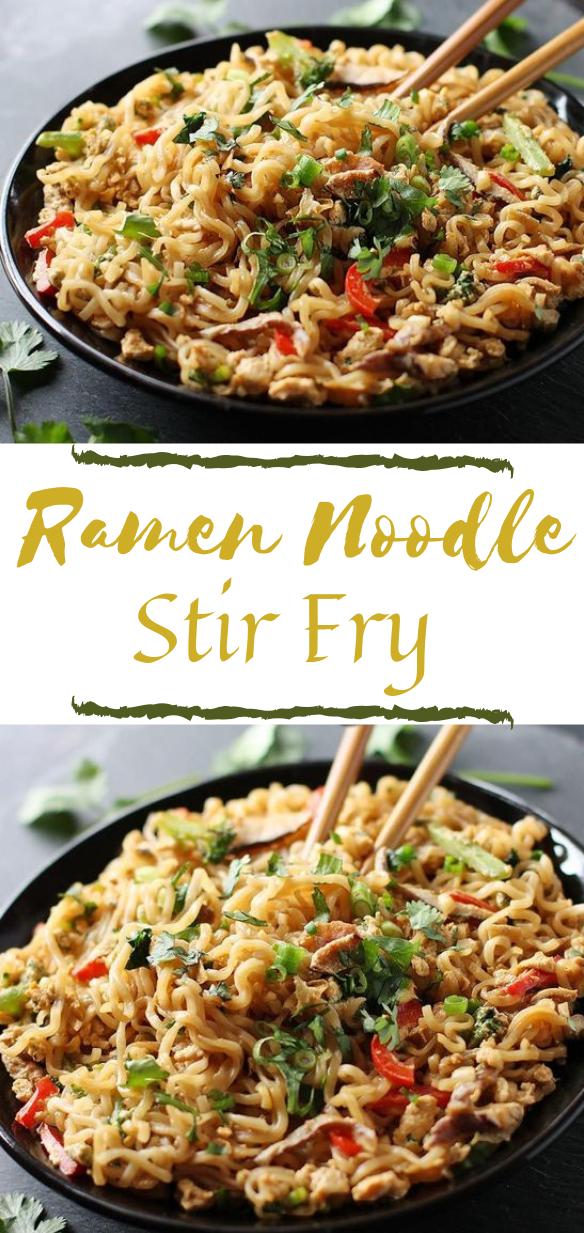 RAMEN NOODLE STIR FRY #ramen #noodle #dinner #healthyrecipes #food