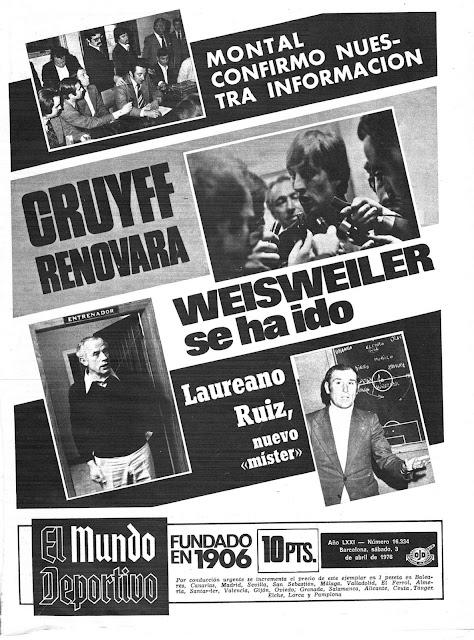 Mundo Deportivo Abril 1976