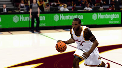 NBA 2K13 Cavs Dion Waiters New Tats Cyberface Patch