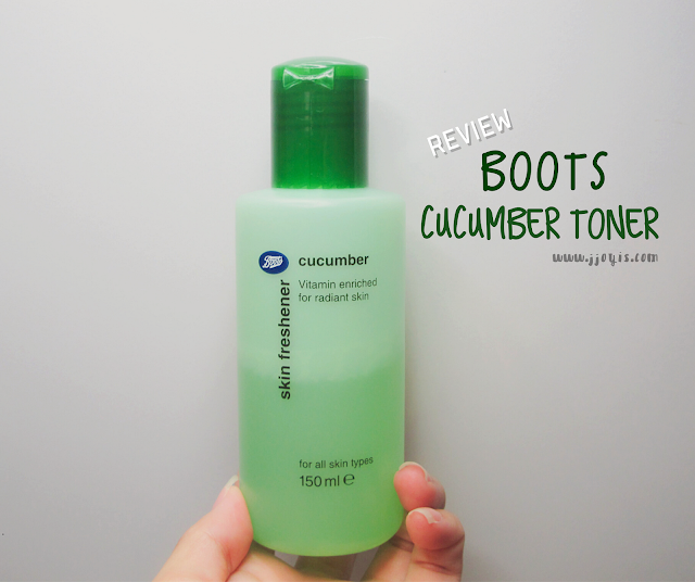 boots skin freshener cucumber review