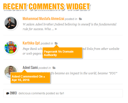 Cara Membuat Widget Recent Comments Keren Untuk Blogger by Anas Blogging Tips