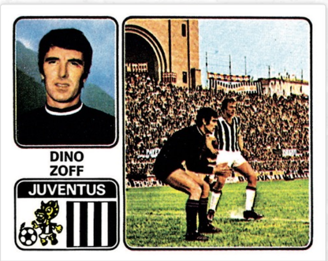 figurina zoff top team panini